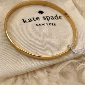 Kate Spade Heart of Gold Idiom Bangle Bracelet